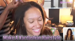 Make A Kim Kardashian Inspired Hairstyle