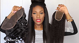 Lace Frontal VS Lace Closure VS Lace wig