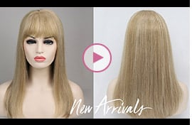 Courtney | Mono Part | Middle Part Remy Human Hair Topper