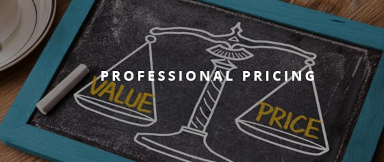 Professional Pricing